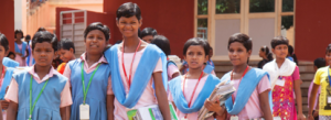 Children at KISS Odisha