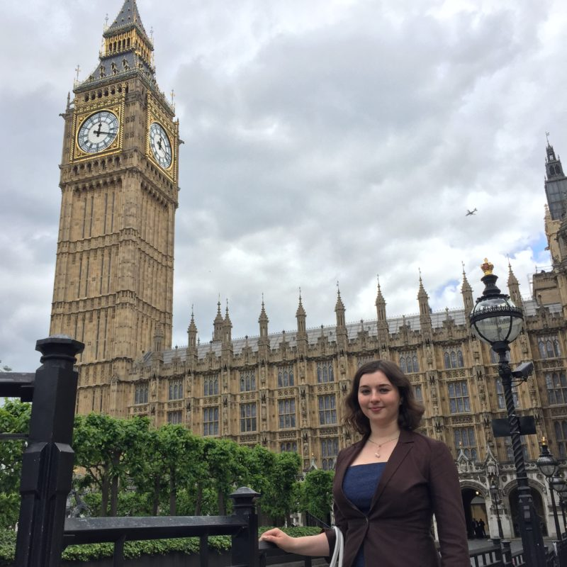 Irina at House of Lords