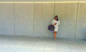 Nidhi at World Bank